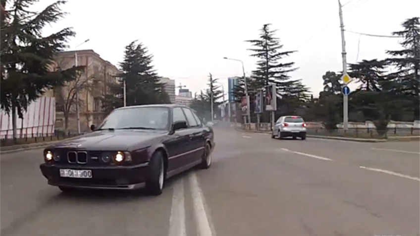 Georgian Stunt Drivers on Youtube: Blessing in Disguise?